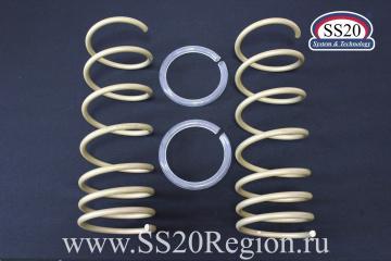 Пружины холодной навивки передней подвески SS20 Gold Progressive (переменный шаг)