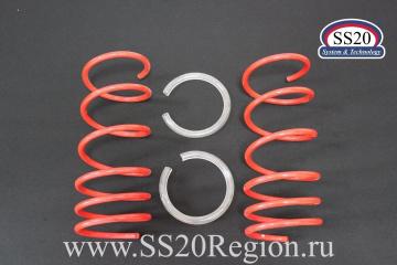 """Пружины холодной навивки передней подвески SS20 Racing (переменный шаг) """"-70"""""""