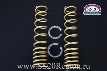 Пружины холодной навивки задней подвески SS20 Gold Progressive (переменный шаг)