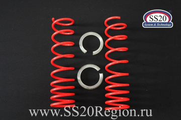 """Пружины холодной навивки задней подвески SS20 Racing (переменный шаг) """"-50"""""""