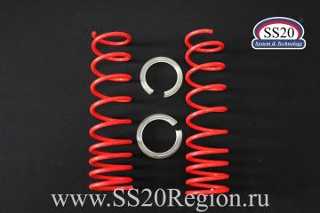 """Пружины холодной навивки задней подвески SS20 Racing (переменный шаг) """"-70"""""""